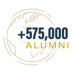more than 575,000 alumni worldwide