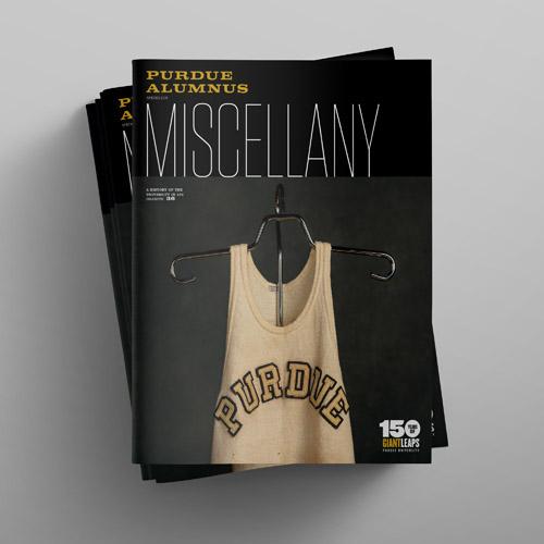 Purdue Alumnus magazine cover