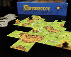Carcassone board game