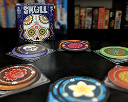 Skull board game