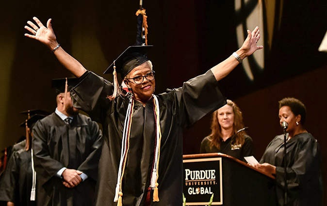 Purdue Global Graduation