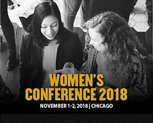 Womens conference 2018 on November 1-2 in Chicago