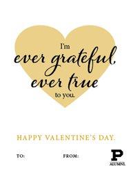 I'm ever grateful ever true to you.